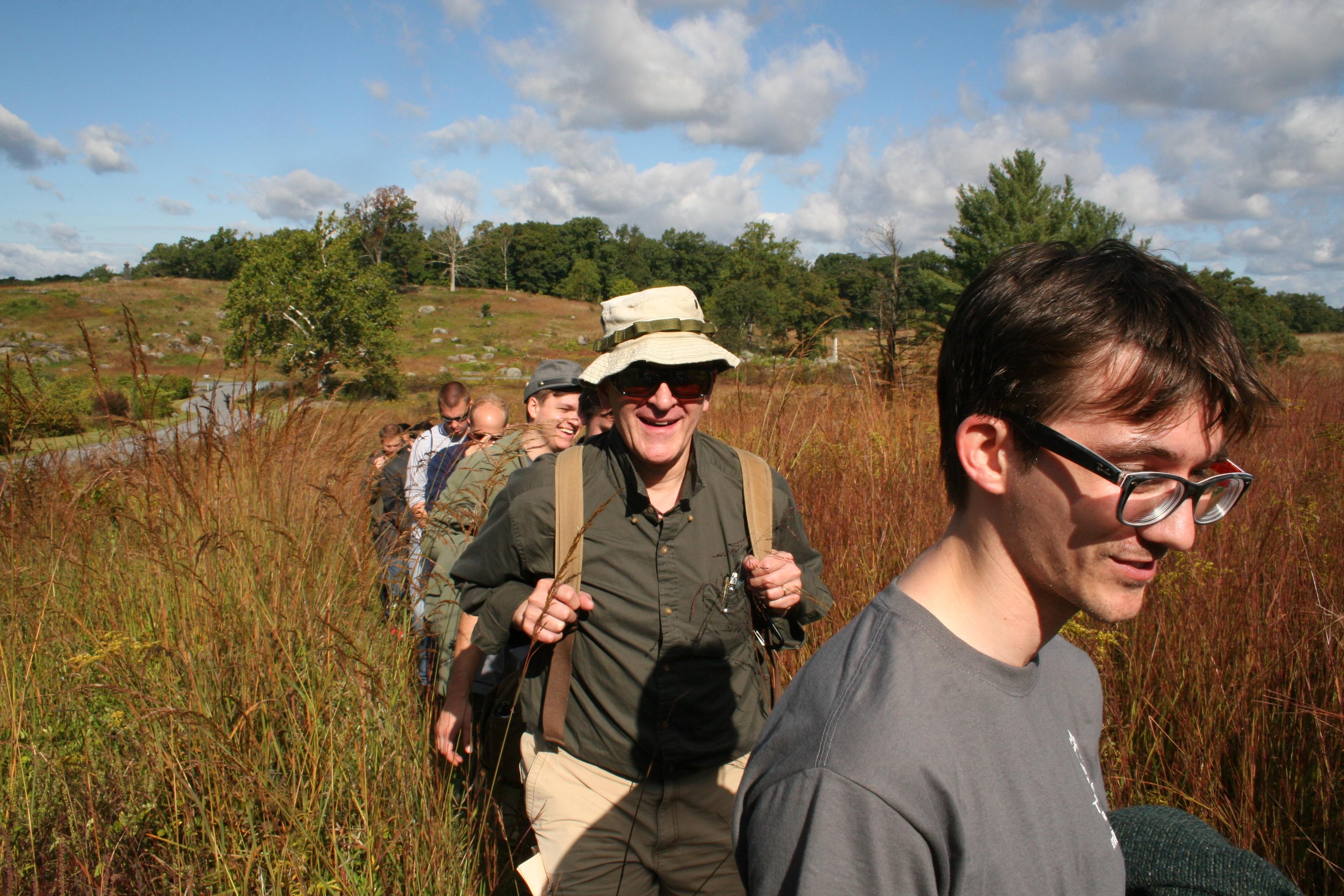 photo essay gettysburg staff ride sais dc dr eliot cohen director of the strategic studies program and will quinn