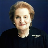 Madeleine Alright, Former U.S. Secretary of State