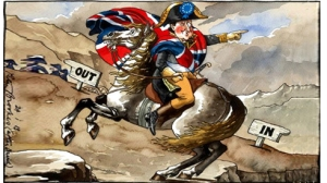 Photo Caption: David Cameron has pledged to push for substantial reform in the EU before putting the resulting deal to a referendum on Britain's continued membership. Yet, everything he tries pushes Britain further towards the EU's exit. Photo Credit: Peter Brookes (The Times)