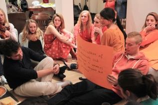 SAIS Europe Goes Orange For A GoodCause