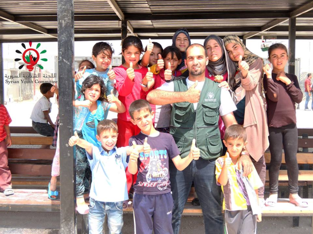 Ismail, 29, one of the beneficiaries the Fund will target. Photo courtesy of the Syrian Youth Committee.